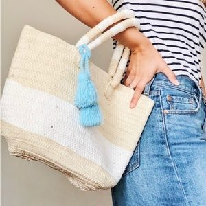 Altru Causebox Woven Tote Bag with Tassels